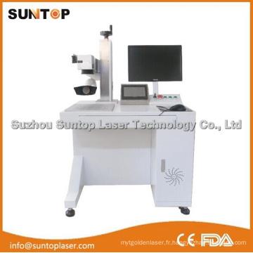 Marquage laser à l'acier inoxydable polonais / Machine d'impression laser pour acier inoxydable