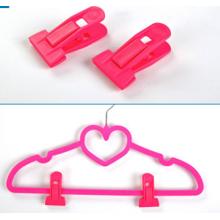 Pink Hanger Clips for Flocked Hangers