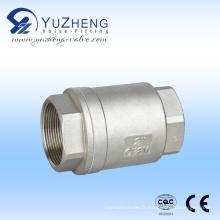 Valve de retenue verticale en acier inoxydable 2PC Fabricant