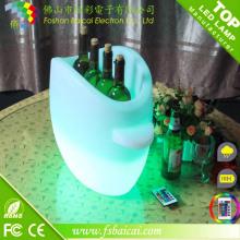 Balde de gelo LED para bar