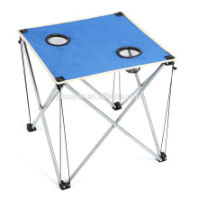 Mini design canvas camping table / BBQ folding table / folding dining table