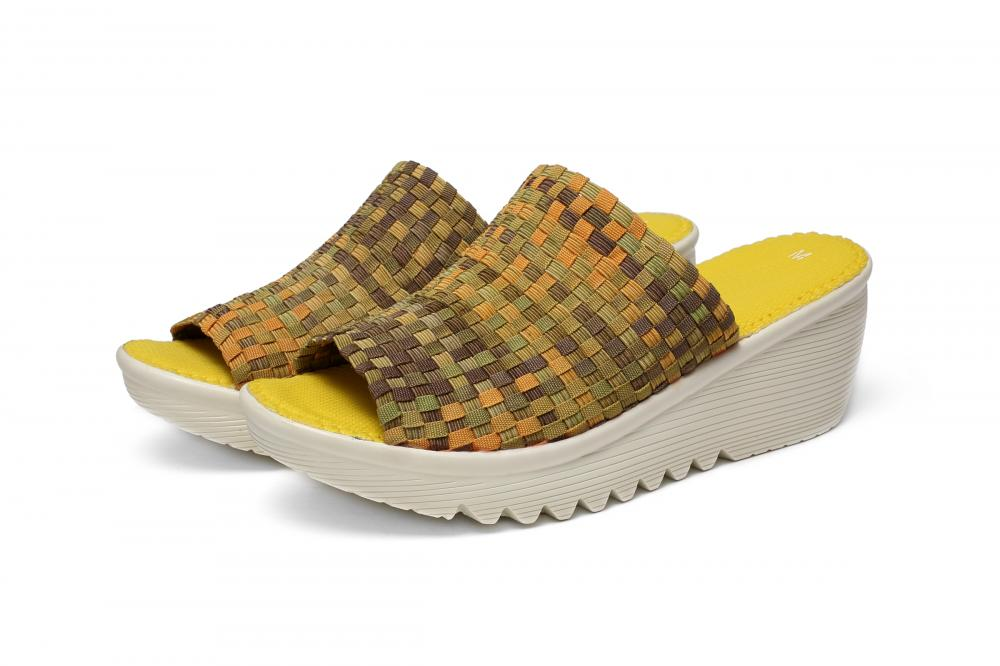 Casual Style Woven Slippers