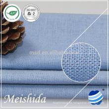 neues Muster 100% Leinen Baumwollgewebe Qualität