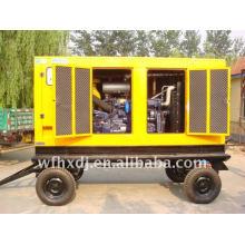 8KW-1500KW reboque gerador