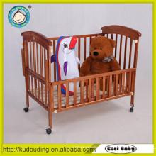 Hot venda bebê cama design móveis de madeira