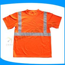 2015 segurança respirável camisas de segurança de construção