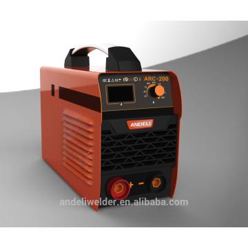 Nouveau Design mma soudeur petit courant monophasé onduleur portable machine de soudage à l'arc 160amp