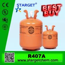 GAS REFRIGERANTE R407A de alta pureza com bom preço