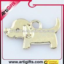 pendentif chien mignon en métal