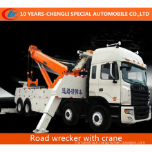 Two Combined Crane Road Wrecker for Emergency
