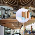 Low price 50x60mm wpc ceiling panel pvc wall interior ceiling films pvc interior design gypsum ceiling