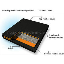 Burning Fire Resistant Rubber Conveyor Belt
