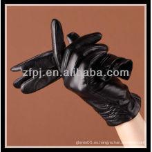 2012 moda hechos a medida Guantes Cuero