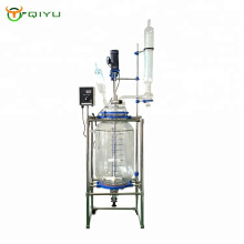 High Efficiency Manufacturer made in China 80L Chemical Equipment Jacketed Glass Reactor
