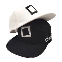 Factory direct deliver OEM ODM black white Embroidery snapback custom logo sports caps mens custom baseball hat