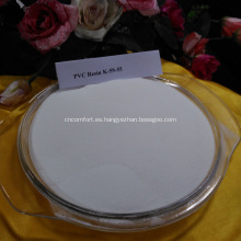 Película de PVC con resina de PVC de primera calidad SG3 SG8