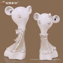 cartoon rat figurine polyreson material high quality interior decoration
