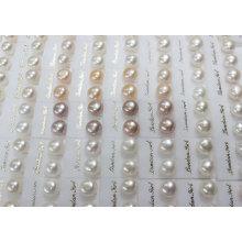 Brincos de perna de água doce Pearl (ER1438)