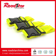 fluorescent yellow reflective safety belt