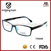 Fournisseur de lunettes de lecture de cadre et de temple TR de Chine