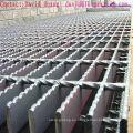 Plataforma galvanizado inmersión en caliente de acero de la reja para piso de acero
