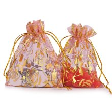 Organza Jewelry Pouch Wedding Party Favor Gift Bag