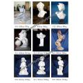 Escultura de piedra Escultura de mármol estatuilla Estatua para la decoración del hogar