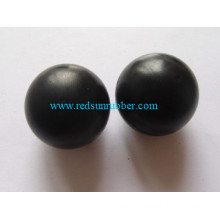 OEM Custom Elastic Colorful 6mm Globe Silicone Rubber Bead Ball Without Hole