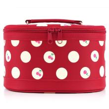 Estojo de beleza para lavagem cosmética estampado Lady Fashion Cherry (YKY7527)