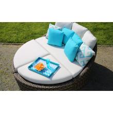 Patio jardin rotin meubles d'extérieur en osier Set chaise longue