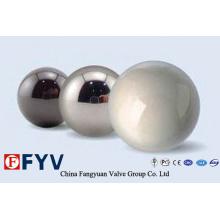 Bolas de válvula de acero inoxidable de alta calidad