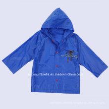 Top Quality Cheap Kids Plastic Raincoat