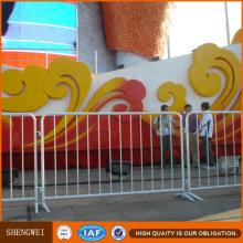 Barrera de seguridad de construcción de seguridad galvanizada