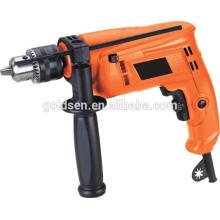 Hot GOLDENTOOL 13mm 500w Power Portable Boring Impact Drill Electric Mini Drilling Milling Machine