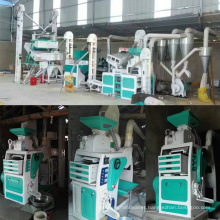 Automatic high capacity mini rice mill