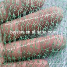 Filet de sécurité mou tricoté par HDPE, filet de sécurité de construction à vendre