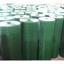 Rouleau de treillis soudé en PVC à faible teneur en carbone