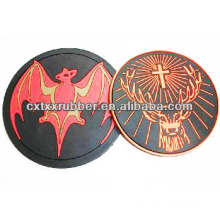 animal shape rubber cup coasters