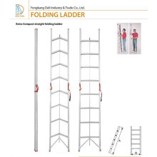 Escalera plegable de aluminio retráctil del palillo