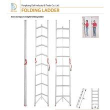 Retractable Aluminium Folding Stick ladder