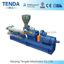 Masterbatch Plastic Twin Screw Extruder with Ce Certificated