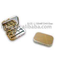 Plastic Eyeshadow Box Cosmetic Packaging