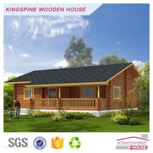 Casa de madera prefabricada de lujo popular de la cabina de madera