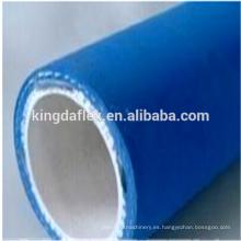 Manguera de goma de la categoría alimenticia de la cubierta azul de la alta temperatura 1 1/2 pulgadas 10bar