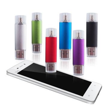Movimentação barata do flash de OTG USB da promoção de alta velocidade para o telefone móvel