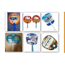 Wholesale Summer Promotion Advertising Fan Custom Plastic Gift Small Hand Fans