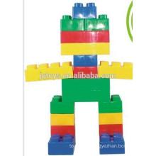 Plástico Grandes ladrillos de construcción bloques de construcción juguetes