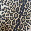Ткань с леопардовым принтом животных 100% полиэстер