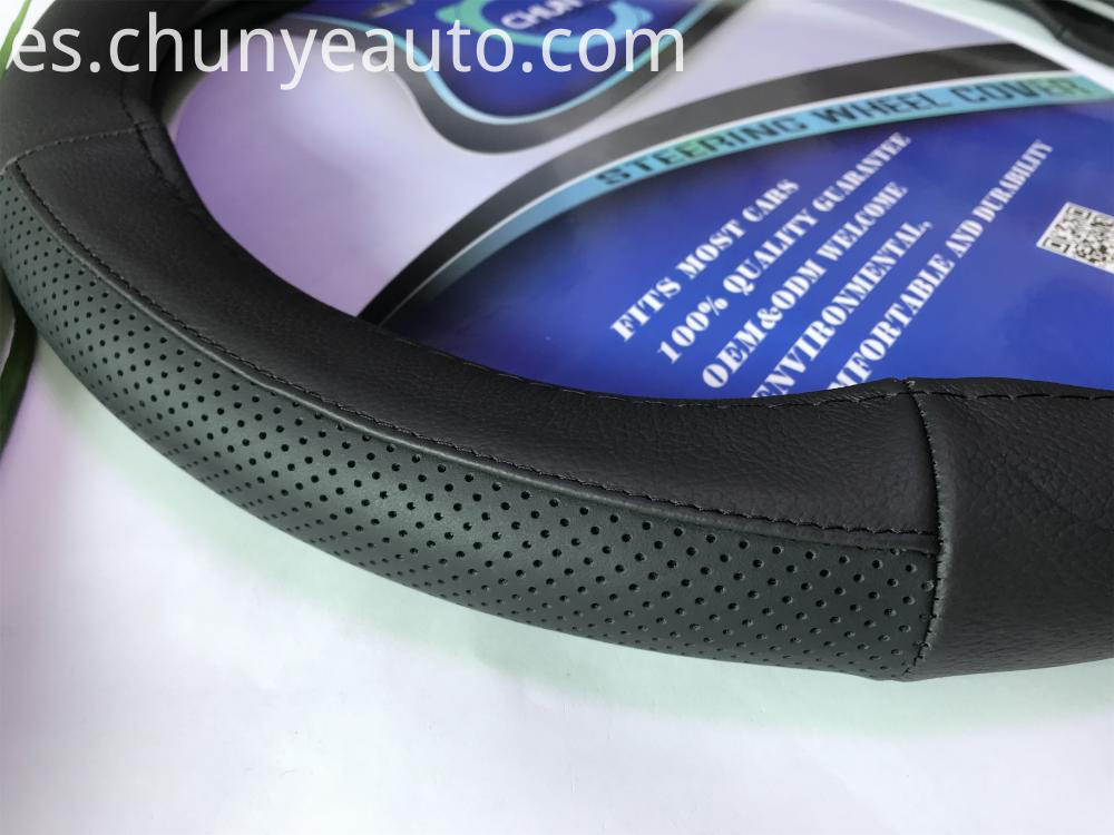 autotrack leather steering wheel cover