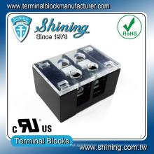 TB-31502CP Cerrar Tipo Barrera 15A 300V 2 polos Conector del bloque de terminales
